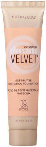 Maybelline New York Dream Velvet  Hydrating Foundation 1oz
