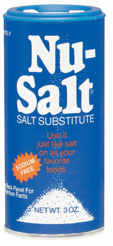 Nu-Salt Sodium Free Salt Substitute  3oz