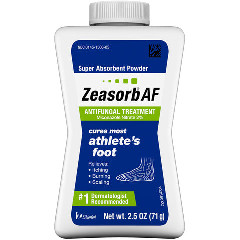 Zeasorb Antifungal Treatment Powder for Athlete's Foot    2.5oz