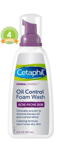 Cetaphil Dermacontrol Oil Control Foam Wash  8oz