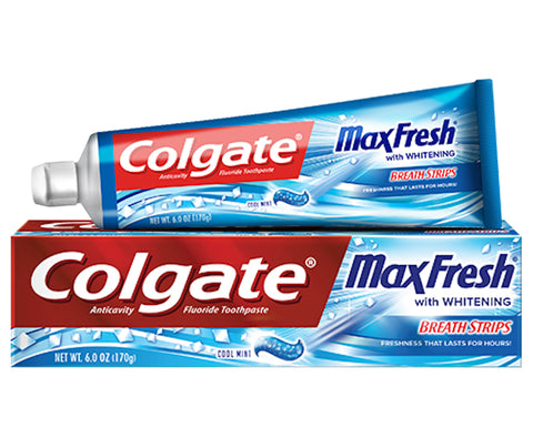 Colgate Max Fresh Toothpaste With Whitening Cool Mint  6oz