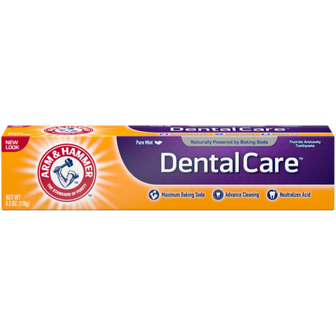 Arm & Hammer Dental Care Advance Cleaning Toothpaste Pure Mint   6.3oz