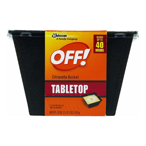 Off Citronella Oil Bucket  18oz