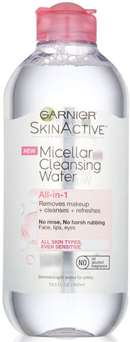 Garnier SkinActive All-In-One Micellar Cleansing Water & Makeup Remover  13.5oz