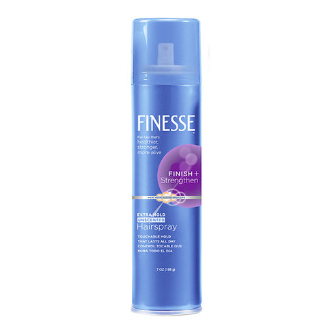Finesse Extra Hold Aerosol Hairspray Unscented     7oz