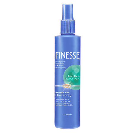 Finesse Maximum Hold Non-Aerosol Pump Hairspray   8.5oz