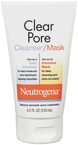 Neutrogena Clear Pore Cleanser/Mask   4.2oz