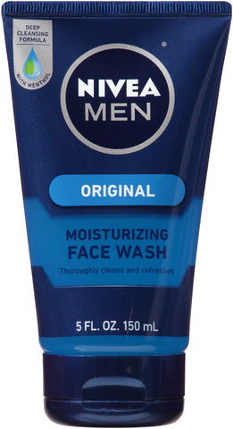 Nivea Men Original Moisturizing Face Wash    5oz