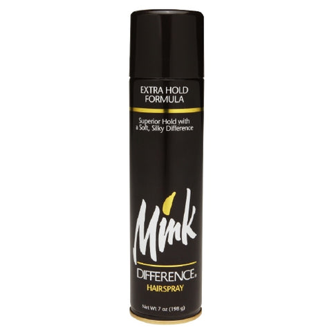 Mink Difference Hair Spray Aerosol Extra Hold   7oz