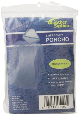 Weather Station Emergency Poncho