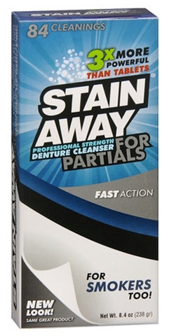 Stain-Away Professional Strength Denture Cleanser For Partials    7.1oz