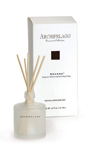 Archipelago Excursion Havana Travel Diffuser  1.6oz