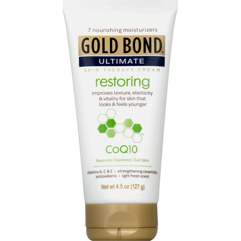 Gold Bond Ultimate Restoring Cream With Co-Q10   4.5oz