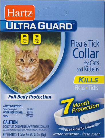 Hartz Ultra Guard Flea & Tick Collar for Cats & Kittens