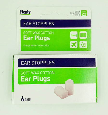 Flents Ear Stopples 6 pair