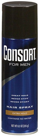 Consort For Men Aerosol Extra Hold Hair Spray  8.3oz