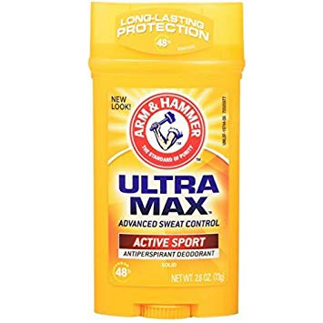 Arm & Hammer UltraMax Solid Antiperspirant Deodorant 2.6oz