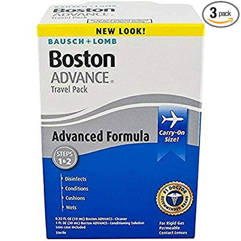 Bausch & Lomb Boston Advance Formula Travel Pack