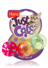 Hartz Just for Cats - Bizzy Balls Cat Toys