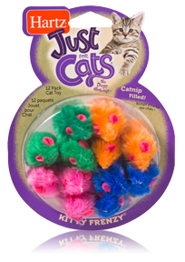Hartz Just for Cats - Kitty Frenzy Cat Toy 12 Pack