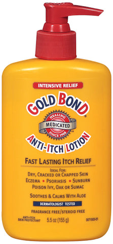 Gold Bond Medicated Anti-Itch Lotion   5.5oz