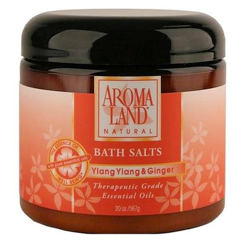 Aromaland Ylang Ylang & Ginger Bath Salts  20oz