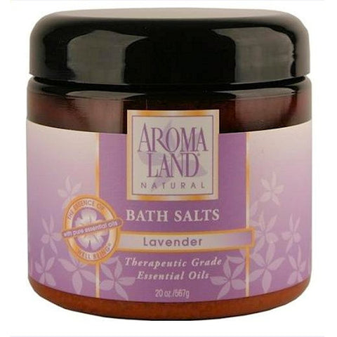 Aromaland Lavender Bath Salts  20oz