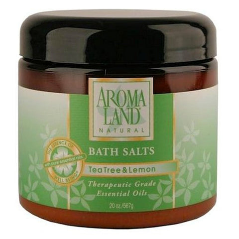 Aromaland Tea Tree & Lemon Bath Salts 20oz