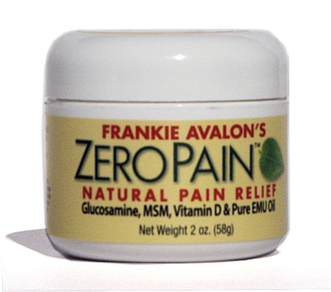 Frankie Avalon Zero-Pain Arthritis Remedy Cream 2oz