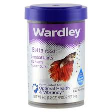Wardley Betta Fish Food Pellets 1.2 oz.