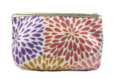 Modella Purse Cosmetic Bag Teardrop Floral