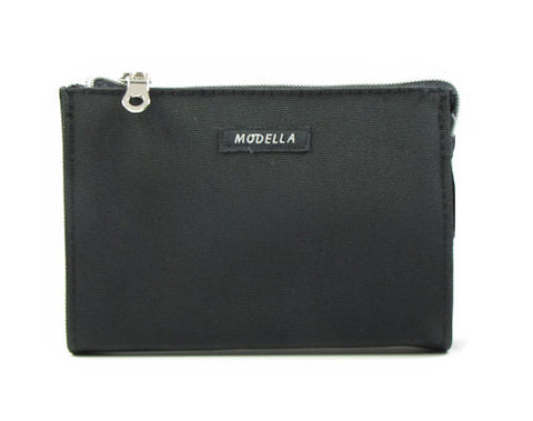Modella Framed Makeup Clutch Classic Black