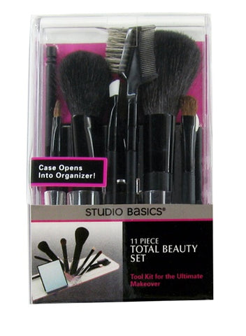 Paris Presents Studio Basics 11 Piece Makeup Brush Set