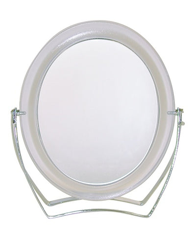 Paris Presents Studio Basics Double Sided Oval Stand Mirror (Model 3108)