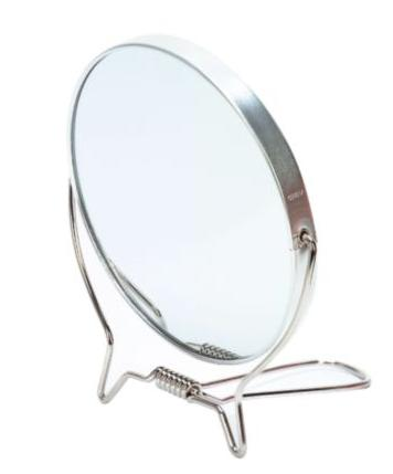 Paris Presents Studio Basics Double Sided Chrome Travel Mirror (Model V589)