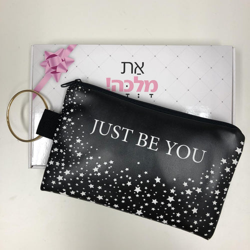 תיק קלאץ' דגם JUST BE YOU
