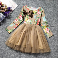 Fun Flower Dress with Full Skirt