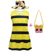 LOL Surprise Dolls Dress up Dress with Hat and Bag