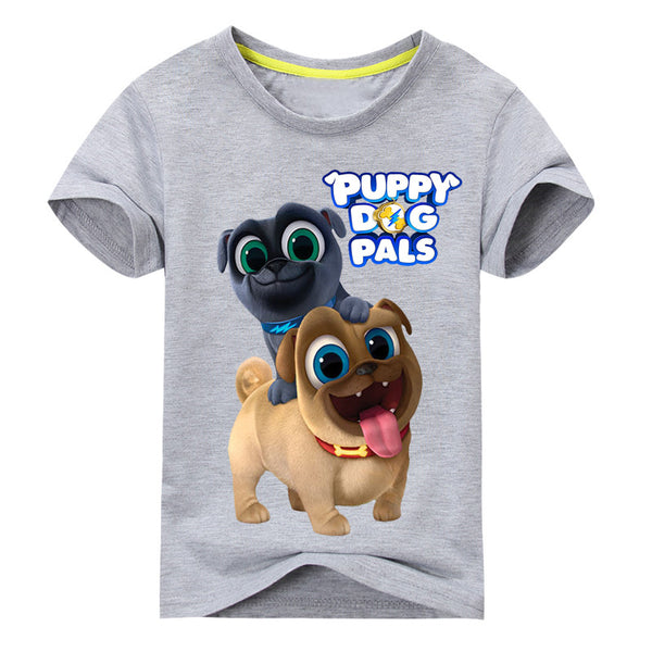 Puppy Dog Pals Tee - Ribbon and Blues
