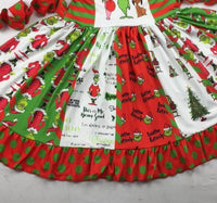 Grinch Christmas Dress