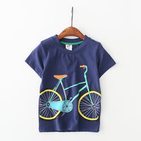 T Shirt Cotton Short Sleeve Tops - Ribbon and Blues
