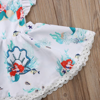 Ariel with Ruffles and Lace