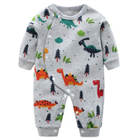 Dino 100% Cotton Long Sleeve Pajamas