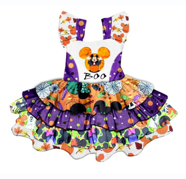 Halloween Mickey Boo Dress