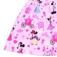 Princess Minnie Dress with Matching Bow