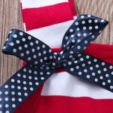 Lovely 4th of July Dress - Ribbon and Blues