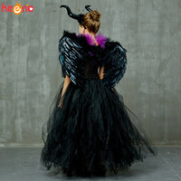 Maleficent Black Gown with Tutu