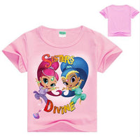 Shimmer and Shine T-shirt - Ribbon and Blues