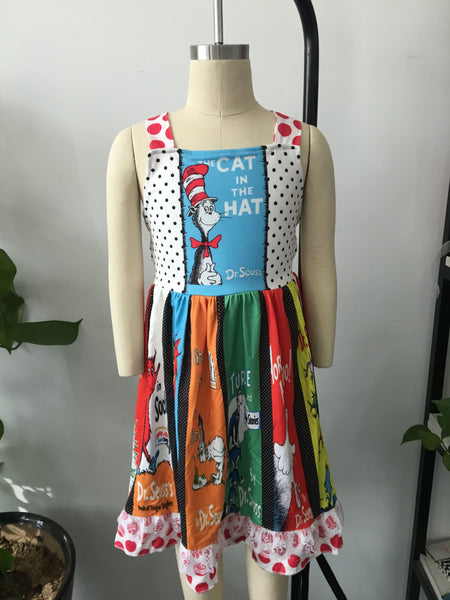 Dr Suess Pattern Dress