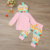 Hoodie and Leggings Set - Ribbon and Blues